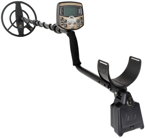AKA Signum MFD HM - Professional, computerized , high-sensitivity , multi-frequency metal detector with original, patented , no analogue technology of space
